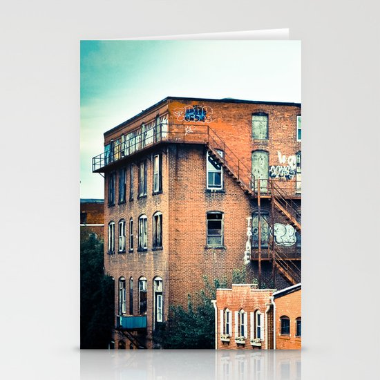 View from a Bridge Stationery Card