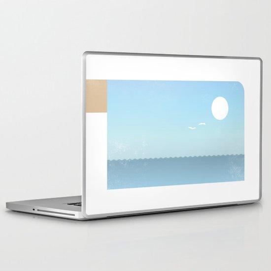 Choppy Waves Laptop & iPad Skin