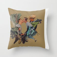 For Everything Unwritten Throw Pillow