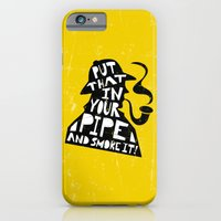 iPhone & iPod Case featuring Smoke It! by Heather Dutton