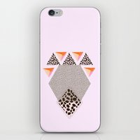 LEOPARD DIAMOND iPhone & iPod Skin