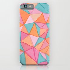watercolor triangles Slim Case iPhone 6s