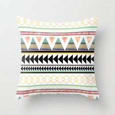 Aztec 3 Throw Pillow