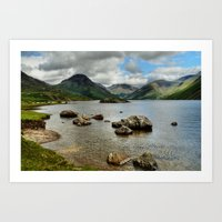 Wastwater Art Print