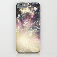iPhone & iPod Case featuring Sun/Sunflare by Heather Lockwood