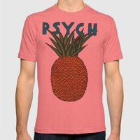 You Know Mens Fitted Tee Pomegranate SMALL