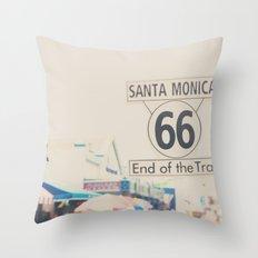 route 66 ... Throw Pillow
