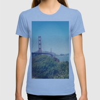 The Golden Gate Womens Fitted Tee Athletic Blue SMALL