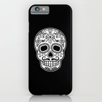 iPhone & iPod Case featuring Mexican Skull - Black Edition by T-SIR