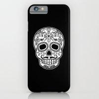 Mexican Skull - Black Ed… iPhone 6 Slim Case