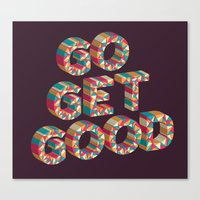 Go Get It. Canvas Print