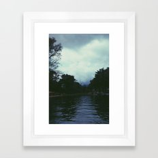 Lake Framed Art Print