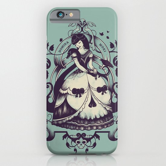 Mrs. Death iPhone & iPod Case