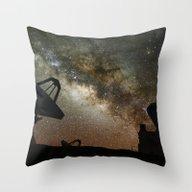 Radio Telescopes And Mil… Throw Pillow