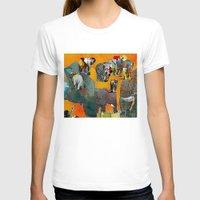 elephants T-shirts featuring Elephants by Jonas Ericson