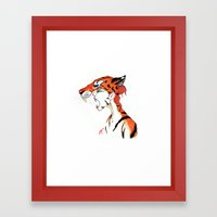 The Masquerade:  The Bengal Framed Art Print