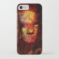 zombie iPhone & iPod Cases featuring Zombie by Ganech joe