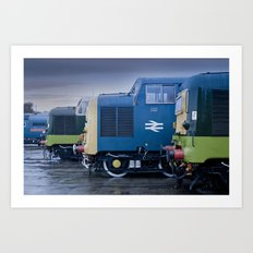 Deltic Deliverance Art Print