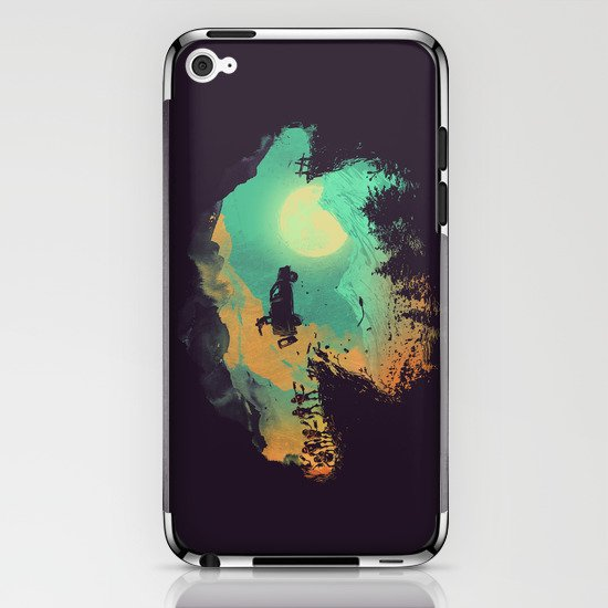 Leap of Faith iPhone & iPod Skin