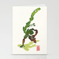 Capoeira 359 Stationery Cards