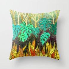 Garden of Eden 2 Throw Pillow