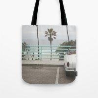 Cruisin Manhattan Beach Tote Bag