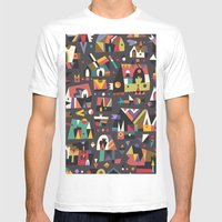 Schema 15 Mens Fitted Tee White SMALL