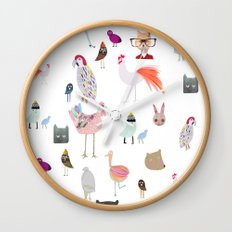 Animal collection Wall Clock