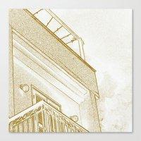 Squarey Canvas Print