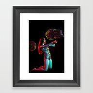 Rainbow Spell Framed Art Print