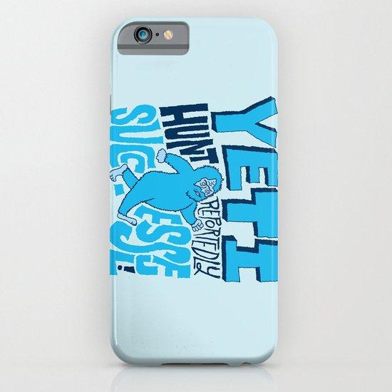 Successful Yeti Hunt iPhone & iPod Case