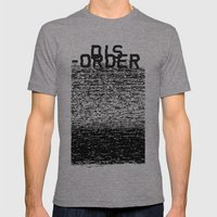 Dis-order Mens Fitted Tee Tri-Grey SMALL