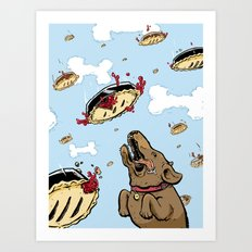 Pie in the Sky Art Print