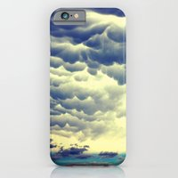 iPhone & iPod Case featuring Mammatus Clouds II by Augustina Trejo
