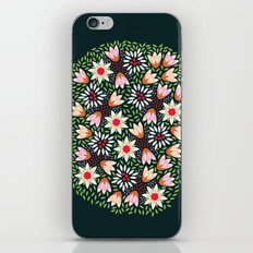 Bed of Flowers iPhone & iPod Skin