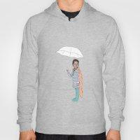 Girl With Umbrella Hoody