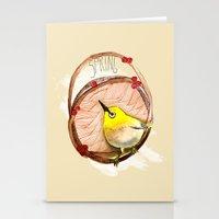 Spring Birdy / Nr. 1 Stationery Cards