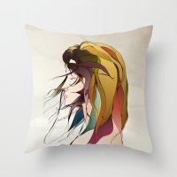Autumn Wind Throw Pillow