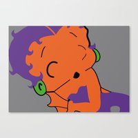BettyPOP Canvas Print