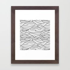 Serpentines Framed Art Print