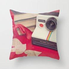 The Polaroid Throw Pillow