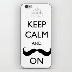 Mustache iPhone & iPod Skin