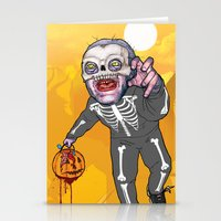 Trick Or Tremble Stationery Cards
