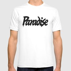 prds White Mens Fitted Tee SMALL