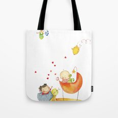 Baby surprise Tote Bag