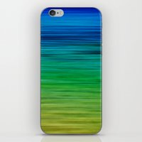 SEA BLUES iPhone & iPod Skin