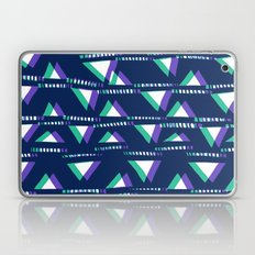 Blue & Green triangles Laptop & iPad Skin