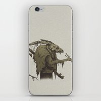 old bones iPhone & iPod Skin