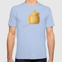 Dip Into The Honey Jar - Green Painting Mens Fitted Tee Tri-Blue SMALL