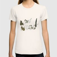 Winwood Womens Fitted Tee Natural SMALL